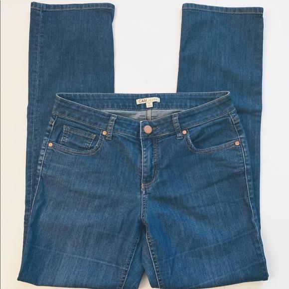 CAbi Denim - CAbi | Lou Lou Slim Straight Jeans